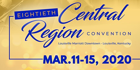 80th Central Region Conference Events tickets