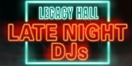 Late Night DJ tickets