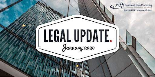 2020 Legal Updates Seminar