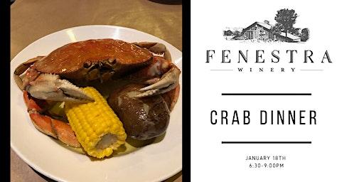 FENESTRA WINERY CRAB DINNER