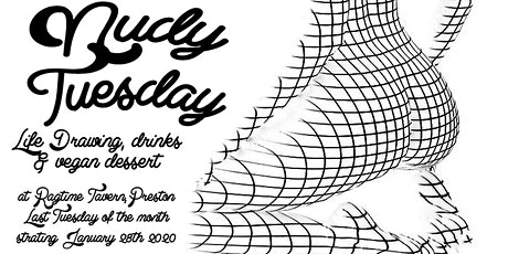 Nudy Tuesday - Life Drawing, drinks and dessert tickets