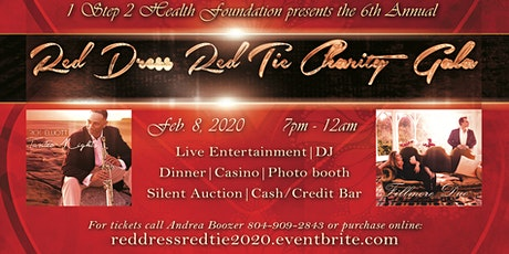 6th Annual Red Dress Red Tie Charity Gala tickets