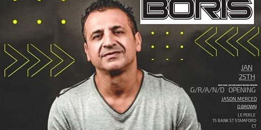 DJ Boris La Perle Grand Opening.