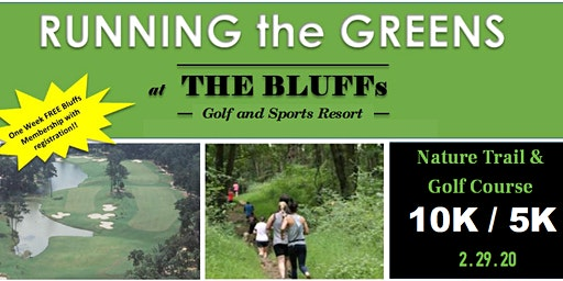 Running the Greens at The Bluffs