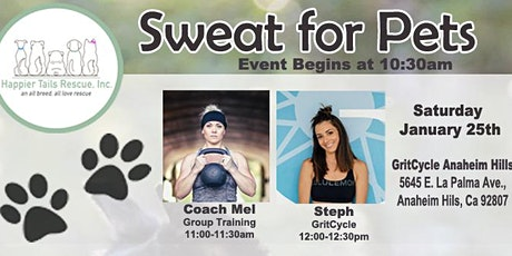 Sweat for Pets Fundraiser tickets