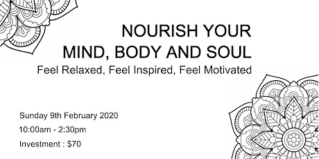 Nourish Your Mind, Body and Soul Retreat tickets