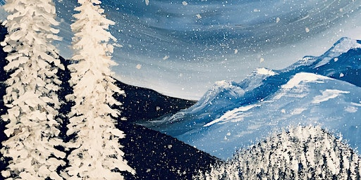 Paint Night! The Silver Mountains
