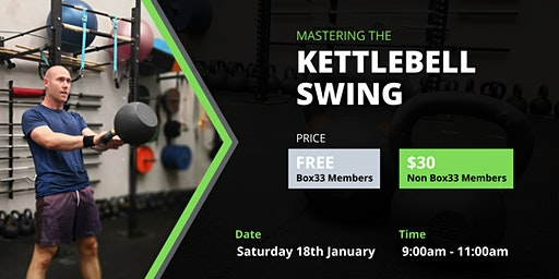 Mastering the Kettlebell Swing Workshop