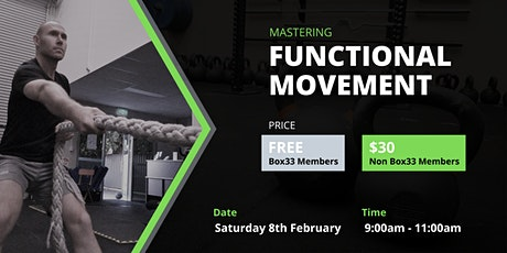 Functional Movement tickets