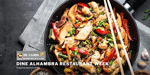 Dine Alhambra Restaurant Week