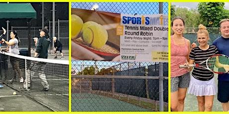 Friday Night Tennis Round Robin - Mixed Doubles at Veltri Tennis Center tickets