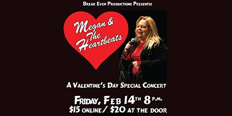 Megan and the Heartbeats Valentine's Day Concert tickets