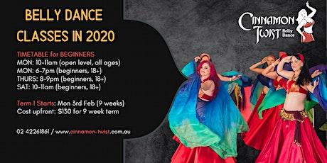 Belly Dance Term 1 - 2020 tickets