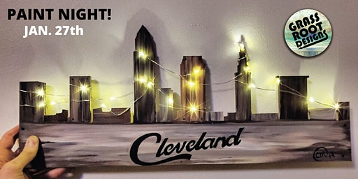 Rustic Cleveland {Light Up} | Paint Night!
