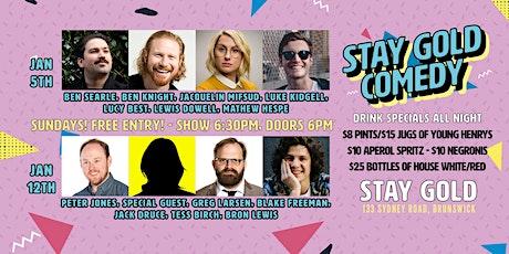 Free Comedy Sundays @ Stay Gold, Brunswick! tickets