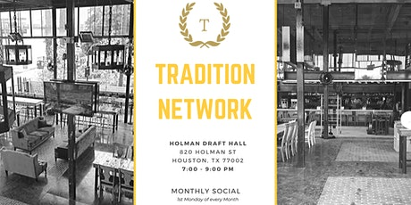 Tradition Network - November Social Event tickets