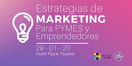 Estrategias de Marketing para PYMES y Emprendedores tickets