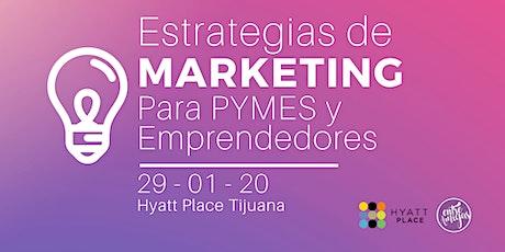 Estrategias de Marketing para PYMES y Emprendedores boletos