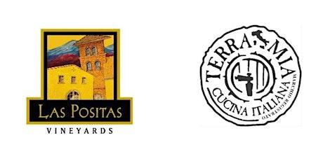 (Reservation Deposit) 5 Course Wine Dinner with Las Positas Vineyards tickets