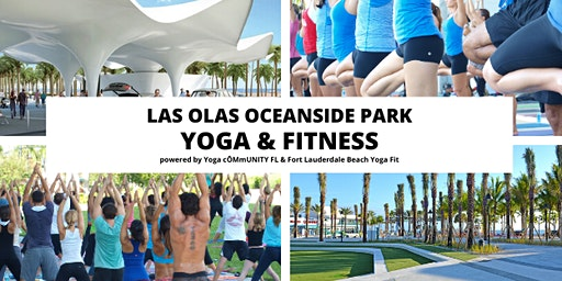 Las Olas Oceanside Park Yoga & Fit by Donation + Farmer's Market