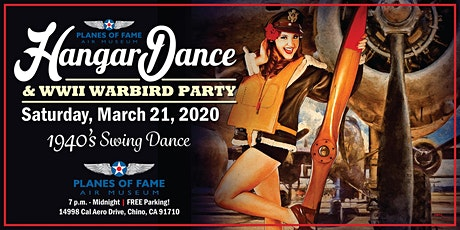 6th Annual Hangar Dance and WWII Warbird Party  tickets