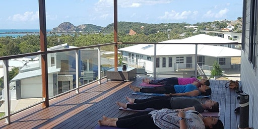 Sunday Yoga on the Deck, Lammermoor Yeppoon February- Big Love