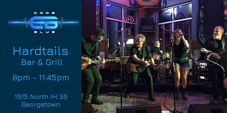 Code Blue Live at Hardtails Bar & Grill   tickets
