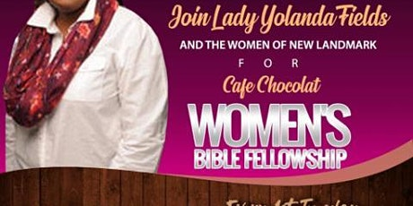 Cafe Chocolat Women's Bible Fellowship tickets