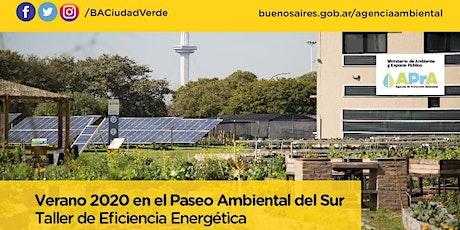TALLER DE EFICIENCIA ENERGETICA entradas