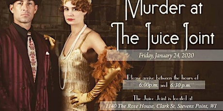 Murder at the Juice Joint Murder Mystery tickets