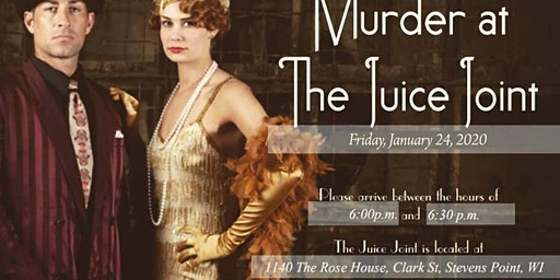 Murder at the Juice Joint Murder Mystery