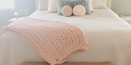Hand Knit Blanket Class at Craft Nights