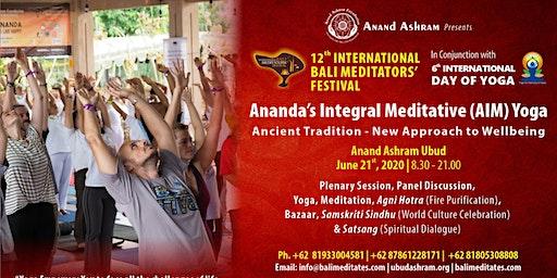 AIM Yoga - International Bali Meditators' Festival