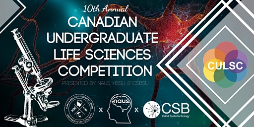 Canadian Undergraduate Life Sciences Competition (CULSC) 2020