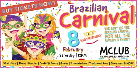 Brazilian Carnival tickets