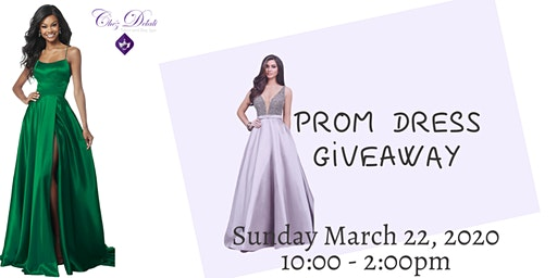 Chéz Délali Salon Prom Dress Giveaway