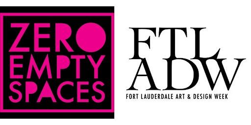Zero Empty Spaces (Las Olas) Resident Artists Open Studios During FTLADW