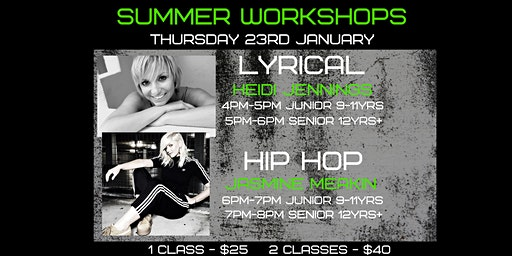 Rize Dance Company Summer Workshops 2020