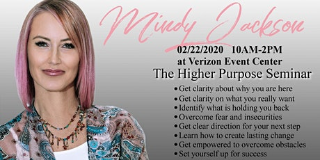Higher Purpose Seminar tickets