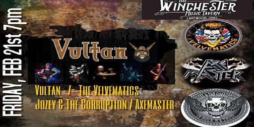 Vultan / The Velvematics / Axemaster / Jozey & The Corruption