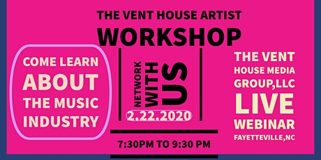 The Vent House Artist Workshop tickets