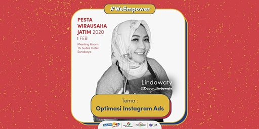Workshop Optimasi Instagram Ads oleh Lindawaty - @dapur_lindawaty