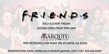 Friends Party every Friday tickets
