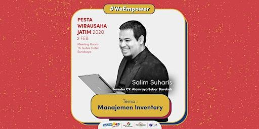 Workshop Manajemen Inventory oleh Salim Suharis