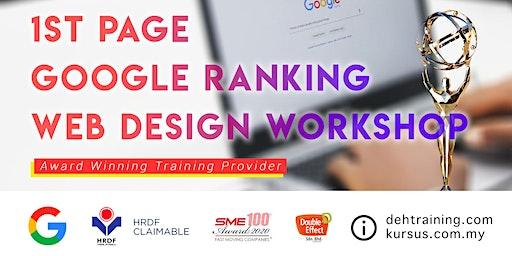 Awards Winning SEO Course – 1st Page Google Ranking Web Design Workshop (Feb'2020)