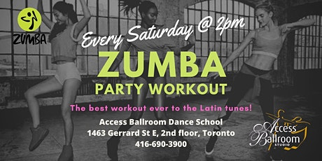 Zumba Semester Classes at Access Ballroom in Toronto tickets