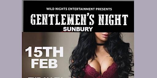 Gentlemens Night @ The Alley