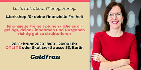 """Finanzielle Freiheit für Frauen """"Einnahmen und Ausgaben"""" tickets"""