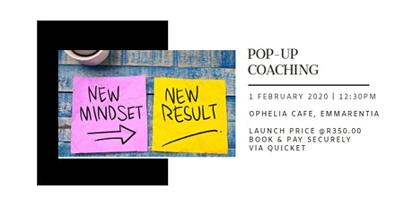Pop-up Coaching - Life coaching in a low key, low risk way. tickets