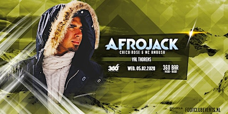 Afrojack at 360 Bar, Val Thorens [FR] tickets
